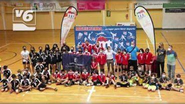 DEPORTES   Los alevines del club Albarena, campeones de voley en C-LM