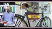 Exposición de bicicletas antiguas en el Museo de la Cuchillería de Albacete