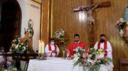 Misa en San Pedro en honor a su patrón 2021
