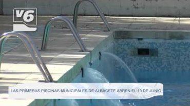 MUNICIPAL   Las piscinas abren el 19 de junio en la capital