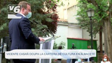 MUNICIPAL   Vicente Casañ ocupa la concejalía de Cultura en Albacete
