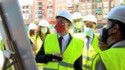 CAPITAL | García-Page ha colocado la primera piedra del centro ubicado en el barrio Universidad