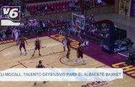 DJ McCall, talento defensivo para el Albacete Basket