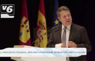 El presidente regional, Emiliano García-Page, de baja por una operación
