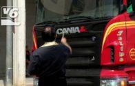 Los camiones vuelven a las calles de Pozo Cañada en San Cristobal