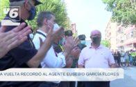 ALBACETE | Homenaje al agente Eusebio García Flores que perdía la vida en La Vuelta ciclista de 2014