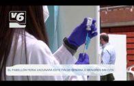 El pabellón Feria de Albacete vacunará este fin de semana a menores sin cita