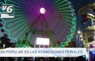 Día popular en las atracciones feriales de Albacete