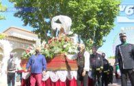 Homenaje a los manchegos de la Feria