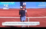 El Club de Tenis de Albacete rendirá homenaje a la Copa Davis