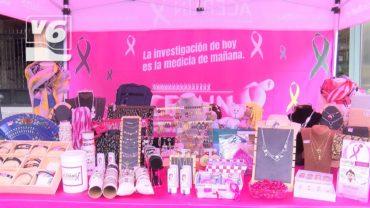 El día de la investigación contra el cáncer, presente en la Plaza del Altozano