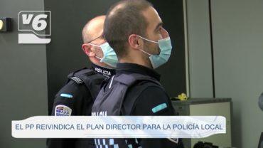 El PP reivindica el Plan Director para la Policía Local