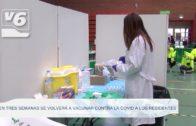 En tres semanas se volverá a vacunar contra la covid a los residentes en centros de mayores
