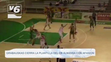Grabauskas cierra la plantilla del CB Almansa con AFANION