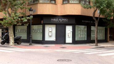 Nuevo escaparate en el Estudio de Arte Pablo Alfaro