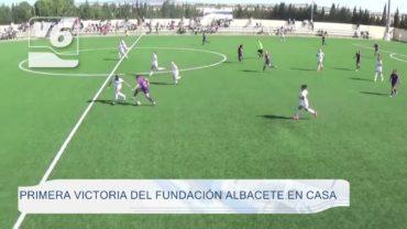 Primera victoria del Fundación Albacete en casa