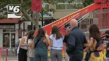 Una Feria de Albacete reluciente gracias al dispositivo de limpieza