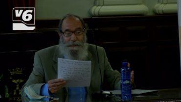 Valeriano Belmonte rinde homenaje al torero Juan Montero