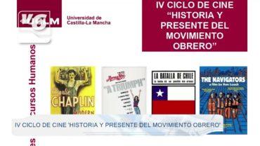 """Arranca el IV ciclo """"Historia y presente del movimiento obrero"""" de Relaciones Laborales"""