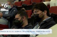Jornada de CC.OO. Albacete sobre el Día Mundial del Trabajo Decente
