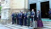 La Guardia Civil festeja El Pilar con una misa en la Catedral de Albacete