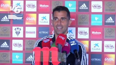 """Rubén Martínez: """"El Albacete tiene un ADN claro y vamos a ganar"""""""
