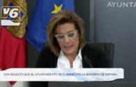 Vox solicita que el Ayuntamiento se ilumine con la bandera de España